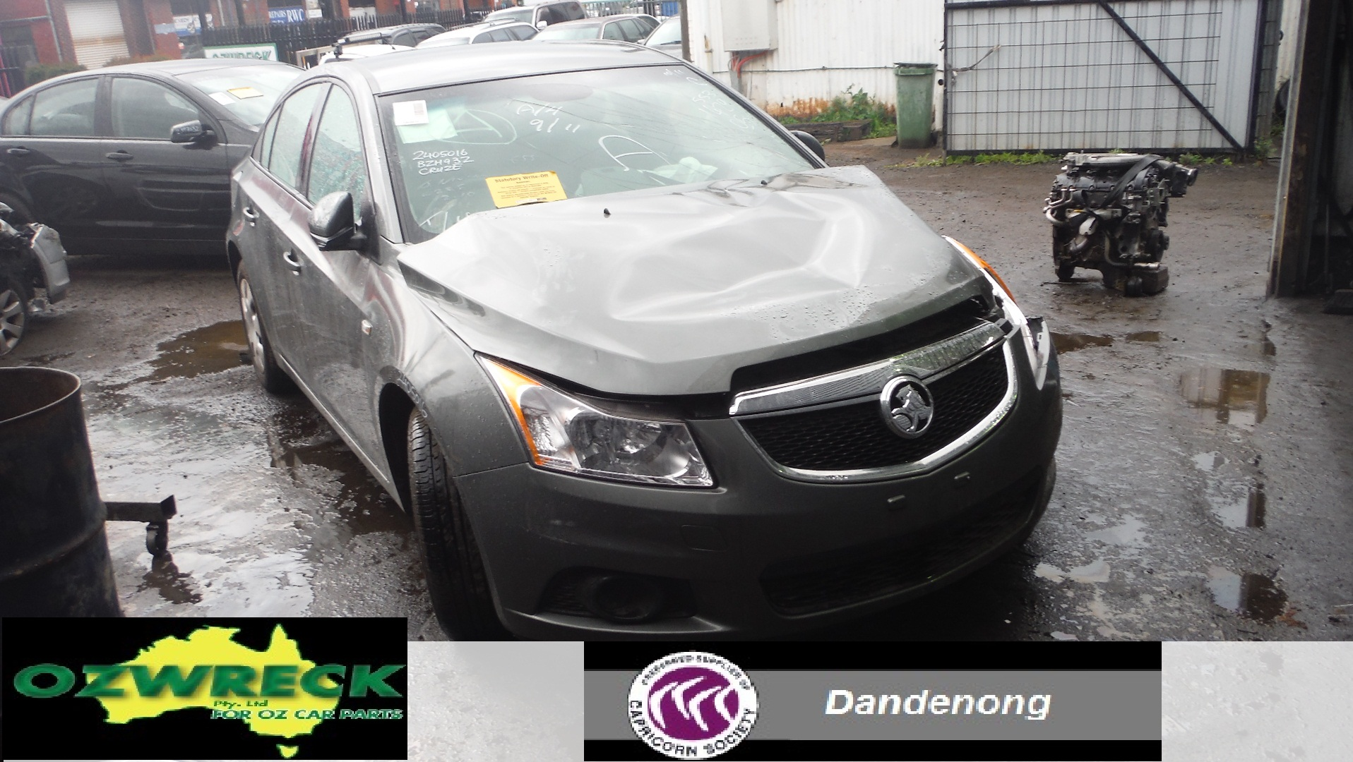 2011 Holden Cruze Jg Cd Sedan Ozwreck
