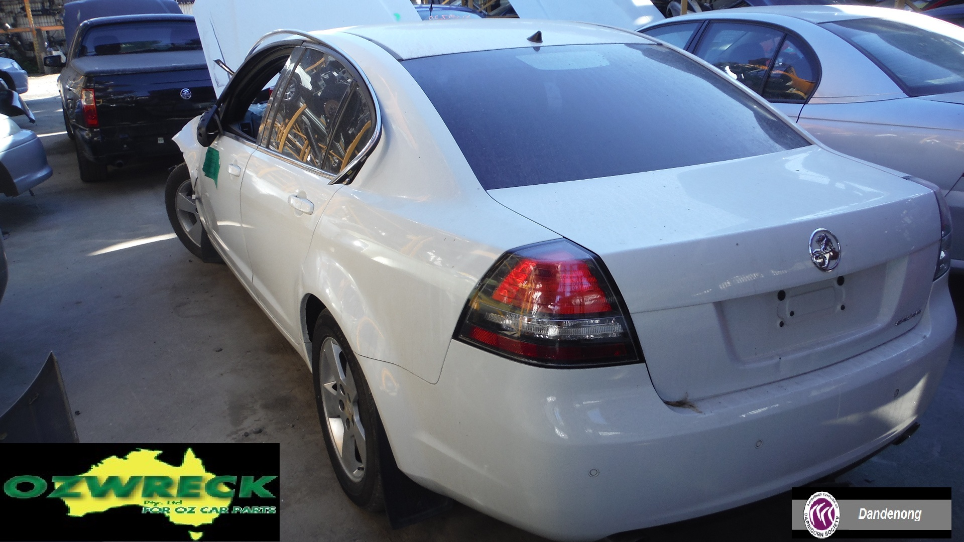 2007 HOLDEN CALAIS VE SEDAN
