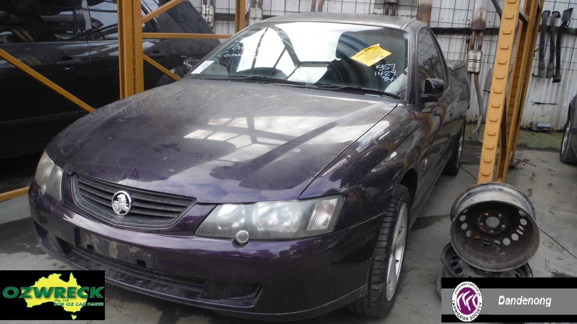2003 HOLDEN COMMODORE VY 11 UTE