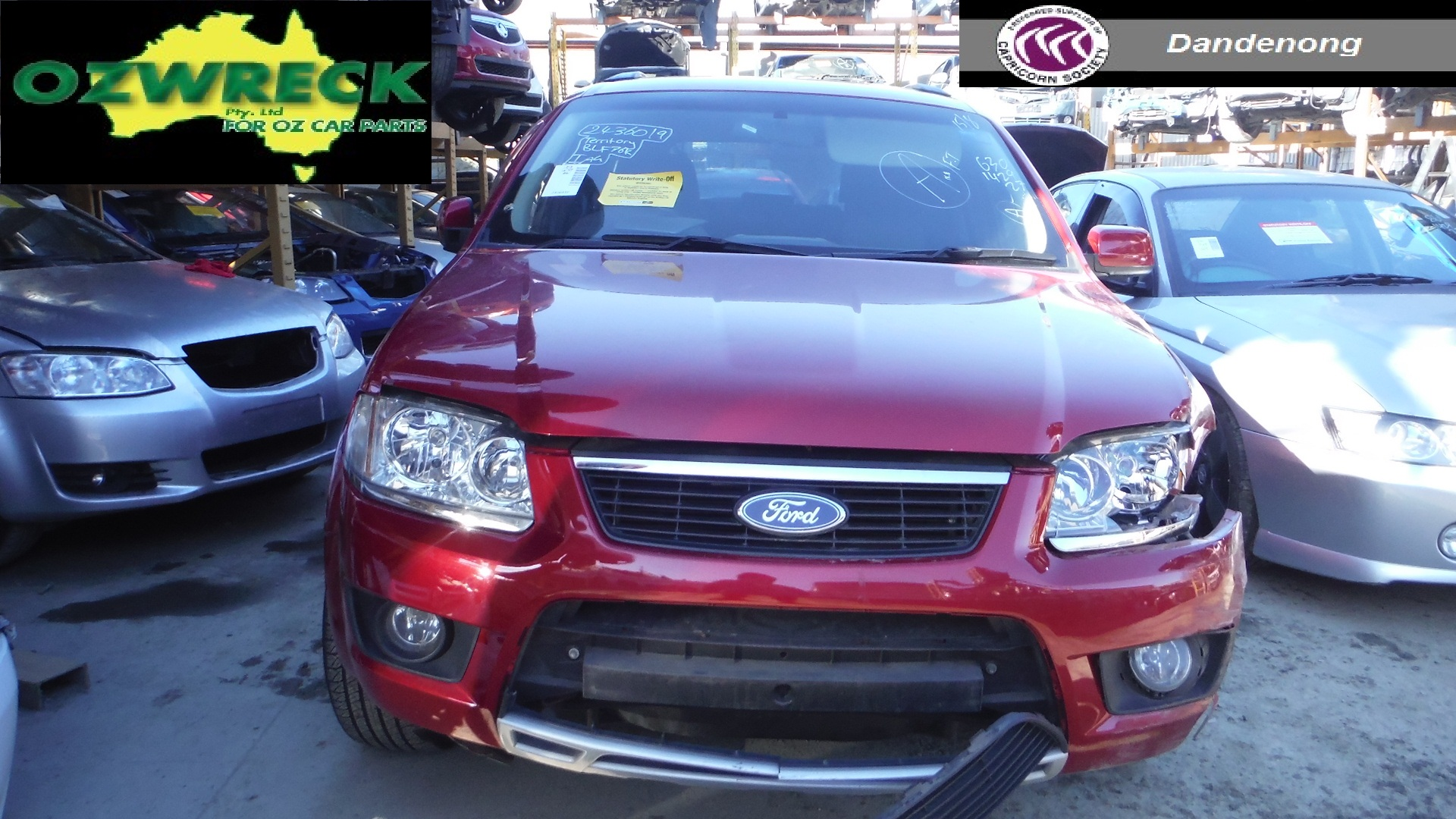 2009 FORD SY TERRITORY