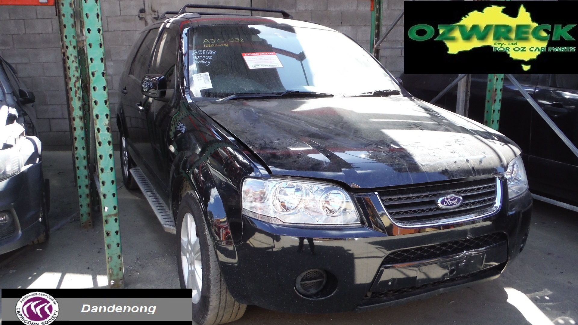 2008 FORD SY TERRITORY