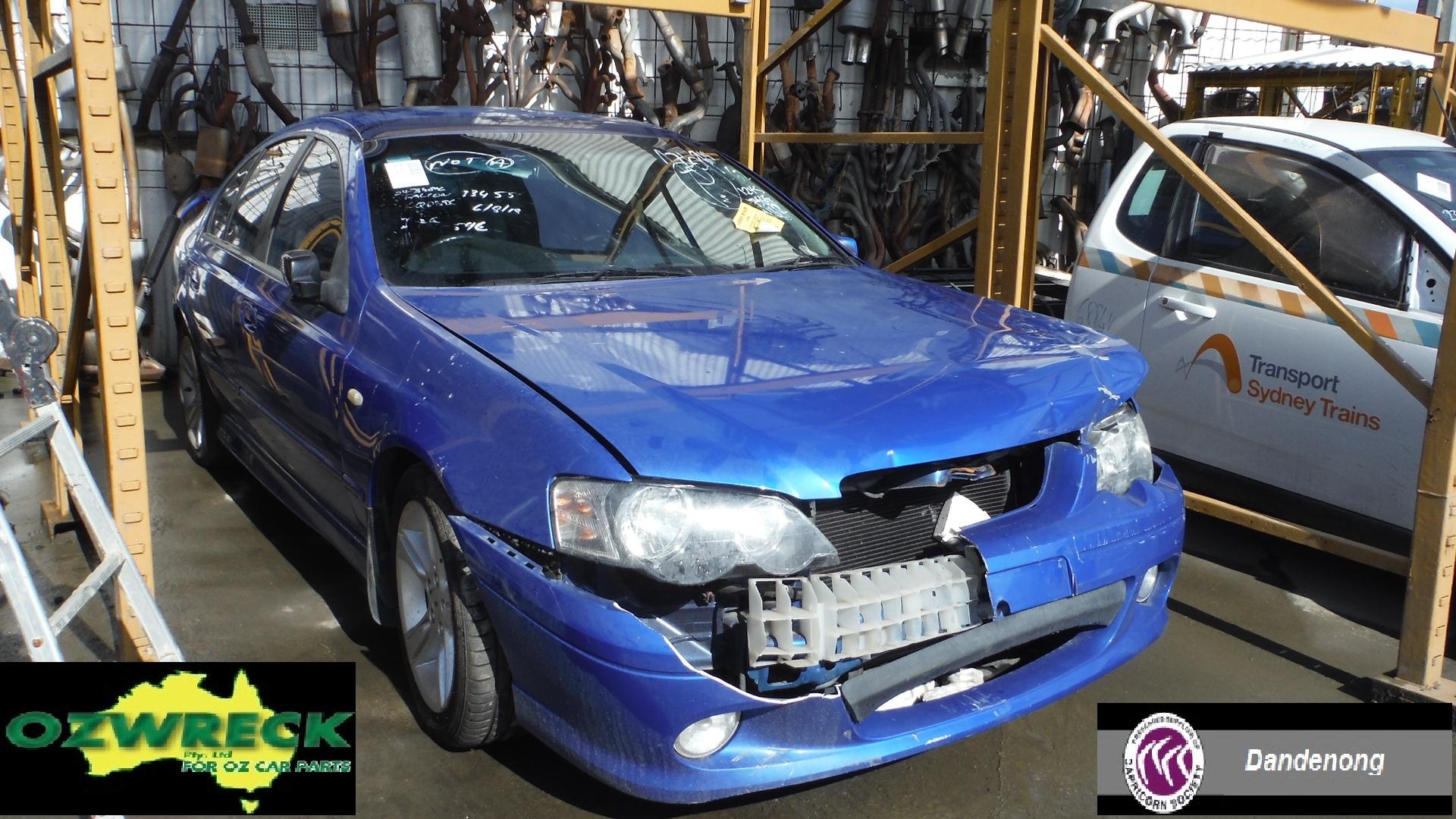 2005 FORD FALCON BA XR6 SEDAN