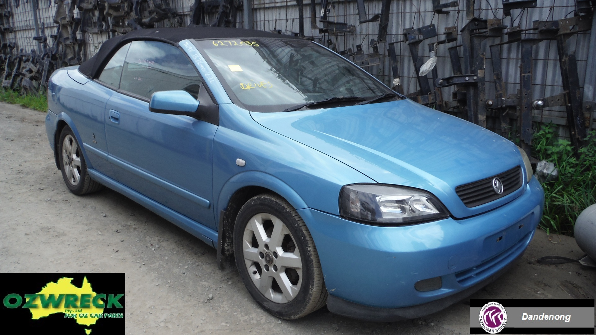 2003 HOLDEN ASTRA TS CONVERTIBLE COUPE