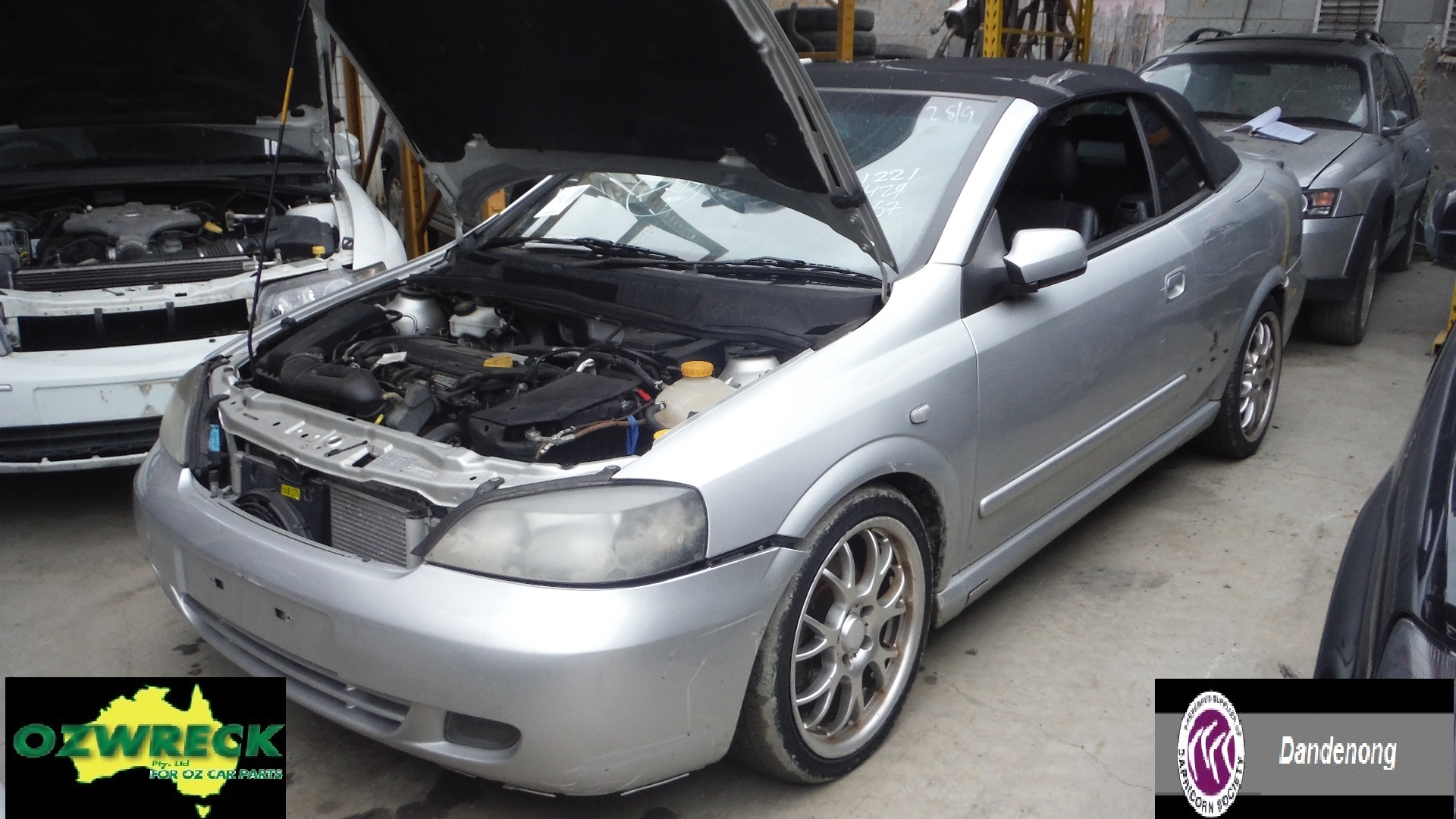 2003 HOLDEN TS ASTRA CONVERTIBLE
