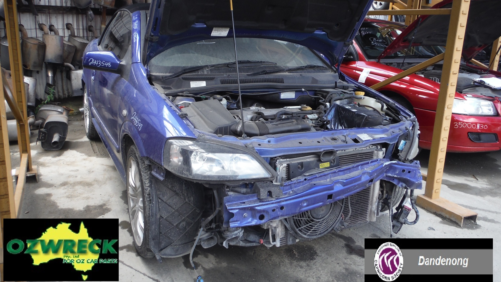 2002 HOLDEN ASTRA TS CONVERTIBLE