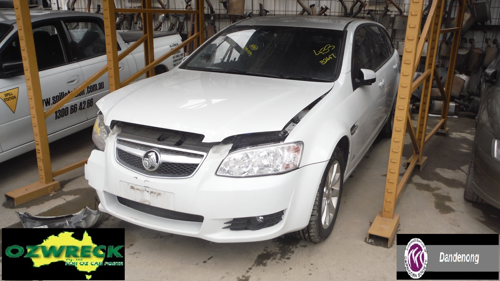 2011 HOLDEN BERLINA VE WAGON