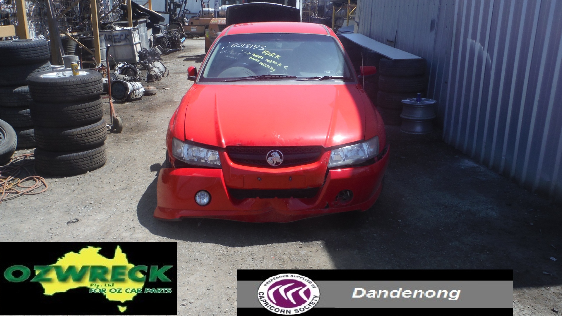 2005 HOLDEN COMMODORE VZ SV6 SEDAN WRECKING WHOLE VEHICLE